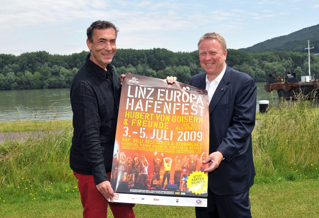 Linz Europe Harbour Festival poster