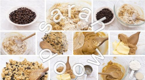 Choc chip cookies by Sarah Doow at Shutterstock