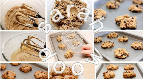 Choc chip pecan cookies by Sarah Doow at Shutterstock
